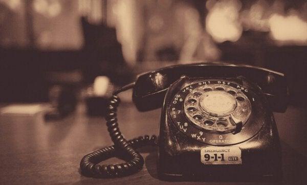 puhelimen uskottiin olevan turha