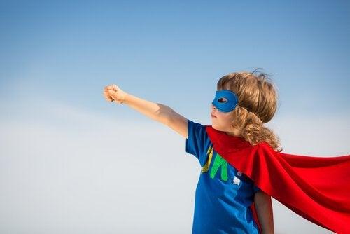 lasten tietoisuustaidot: supersankariharjoitus