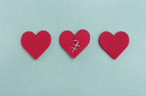 Suhteen uudelleenrakentaminen: sydämet