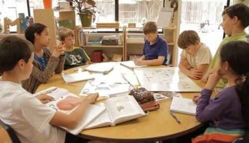 yhteistoiminnallinen oppiminen luokkahuoneessa