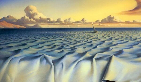 tämä maalaus saa meidät kuvittelemaan ja unelmoimaan