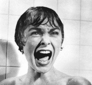 suihkukohtaus elokuvassa Psyko