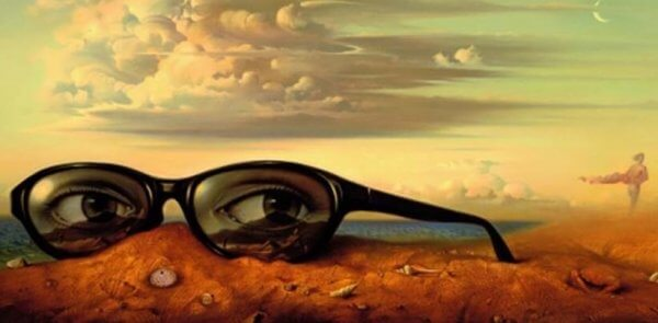 silmät heijastuvat aurinkolaseihin