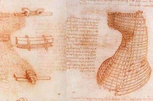 da vincin renessanssin ajan piirustus