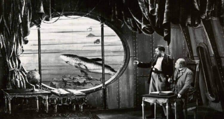 Jules Vernen kuvitusta