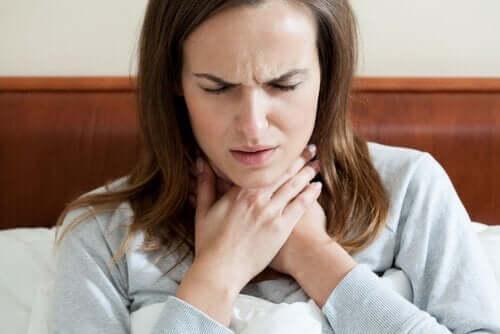 Hysteerinen afonia: konversiohäiriö