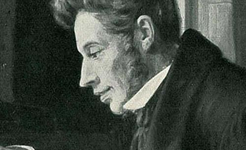 Søren Kierkegaard työssään