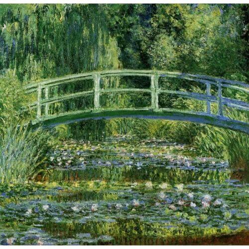 Monet rakasti ja maalasi luontoa