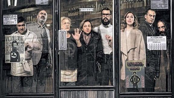 elokuvan El Bar näyttelijät