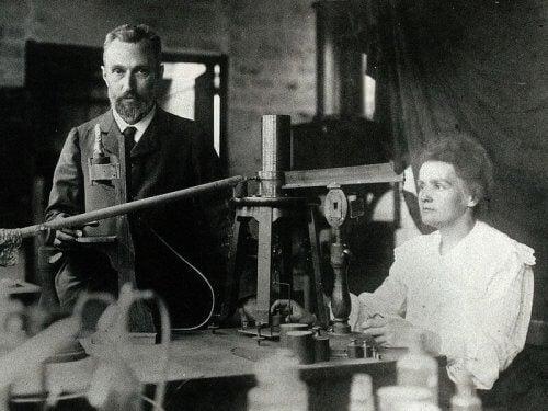 Curie miehensä kanssa