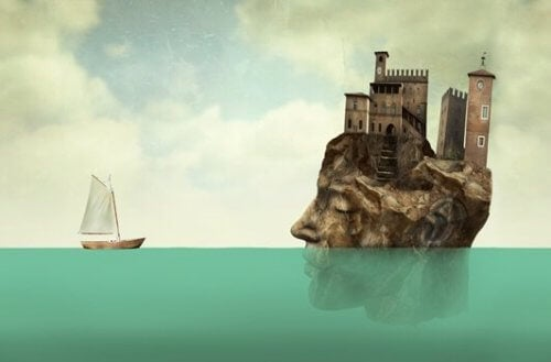 pään muotoinen saari