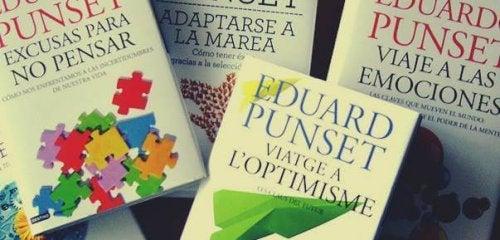 Eduard Punset julkaisi ohjelmansa lisäksi urallaan lukuisia eri kirjoja