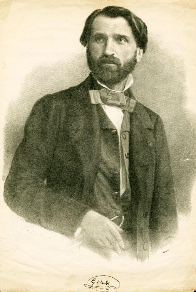 Giuseppe Verdi nuorena