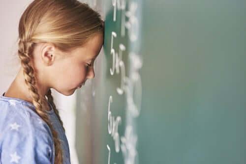 Akalkulia: kyvyttömyys ymmärtää numeroita