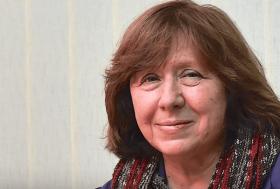 Nobelin kirjallisuuspalkinnon voittanut Svetlana Aleksijevitš