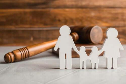 Jaetun huoltajuuden oikeudellinen näkökulma