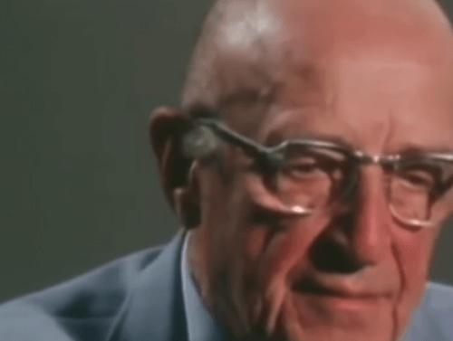 Carl Rogers psykoterapian kehittäjä