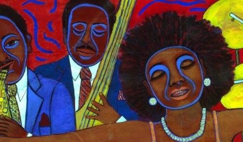 Faith Ringgoldin taide korostaa erityisesti etnisiä jännitteitä, poliittista tyytymättömyyttä ja rodullisia levottomuuksia