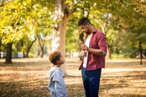 Lapsen teot ja persoona tulisi erottaa toisistaan
