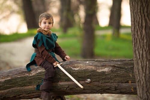Robin Hood on yksi kauneimmista legendoista lapsille