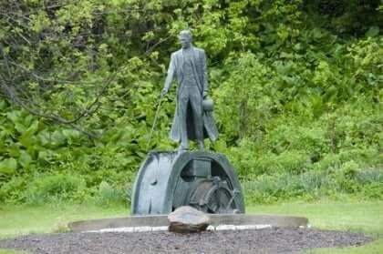 Nikola Teslan patsas