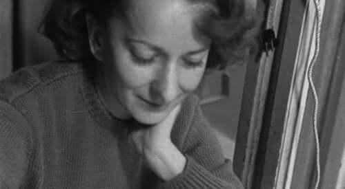 Szymborska nuorena