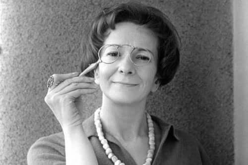 Wisława Szymborska nuorena