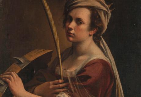 Artemisia Gentileschi maalauksessa