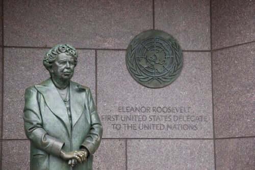 Eleanor Rooseveltin patsas
