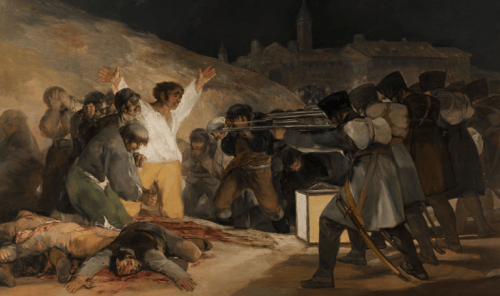Francisco de Goyan sotamaalaus