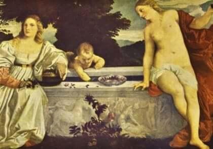 Titian maalasi eroottisia maalauksia
