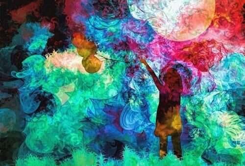 lapsi ja värit