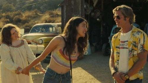 Brad Pitt Tarantinon elokuvassa Once Upon a Time in Hollywood