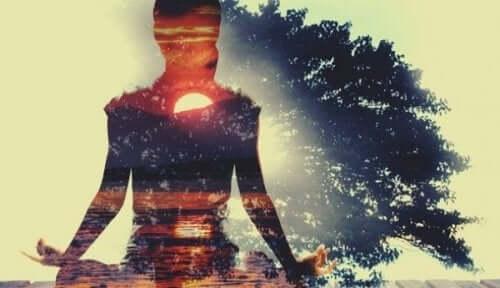 Itsehoidon harjoittaminen voi olla meditaatiota.
