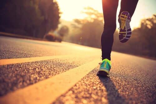 Uuden juoksureitin valitseminen on keino harjoittaa neuroplastisuutta