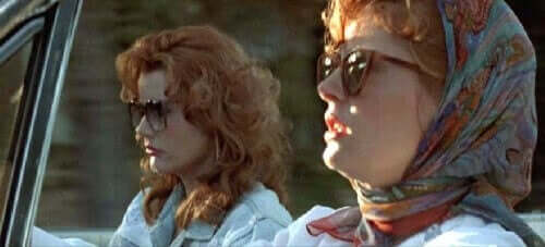 Thelma ja Louise on jo vuosikymmenien ajan tunnettu vahvana feministisenä elokuvana