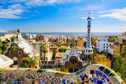 Antoni Gaudín suunnittelma puisto