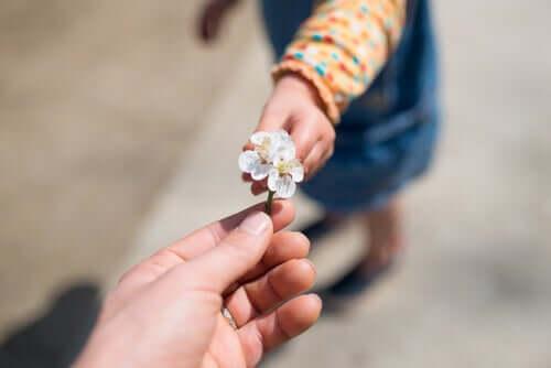 Kiitollisuuden opettaminen lapselle