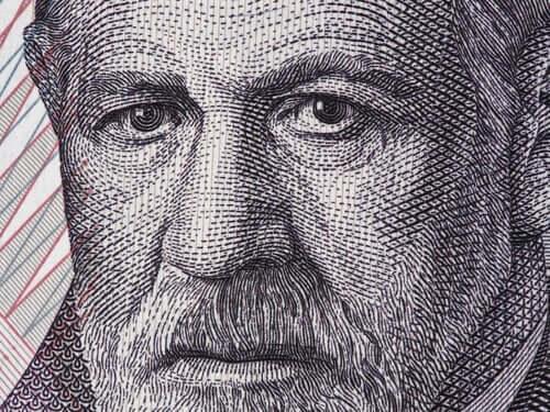 Freudin psykoanalyysin taloudellinen malli.
