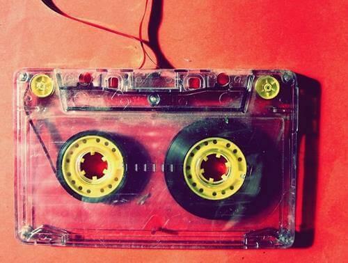 Vanha c-kasetti.