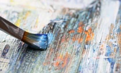 meditointitekniikoita: maalaaminen