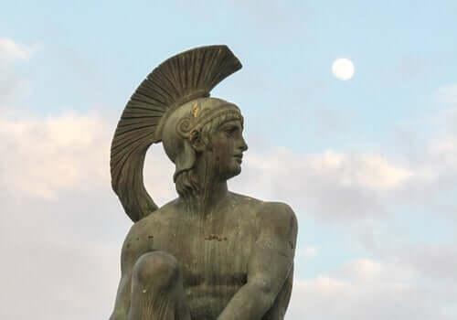 Ares oli kreikkalaisen mytologian mukaan sodan, väkivallan ja miehisyyden jumala sekä heikoimpien puolustaja, ja Hefaistoksen tapaan Heran ja ylijumala Zeuksen poika