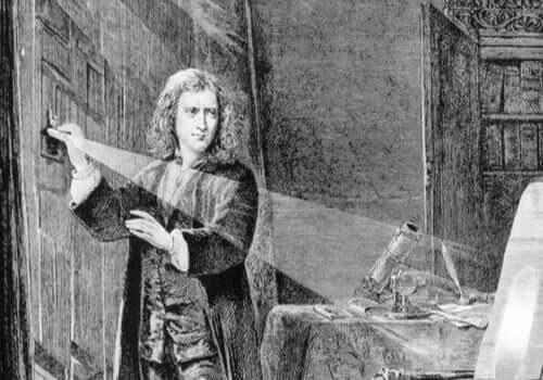 Isaac Newton nuorempana