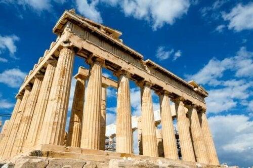 Hermesiä kuvailtiiin kreikkalaisessa tarussa kauniina ja urheilullisena nuorena miehenä, joka puheli aina ja rakasti vitsailemista