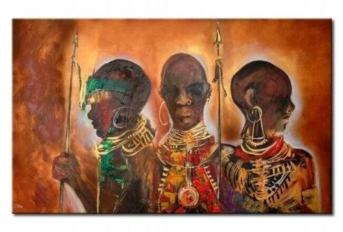 Monet afrikkalaiset sananlaskkut puhuvat paljon metsästyksestä, sillä useat kulttuurit elävät rinnakkain villin luonnon kanssa