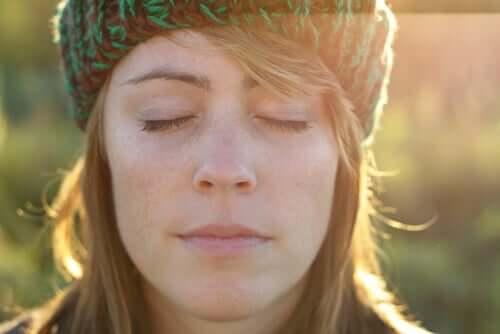 Rusinaharjoitus auttaa rentoutumaan hetkeksi