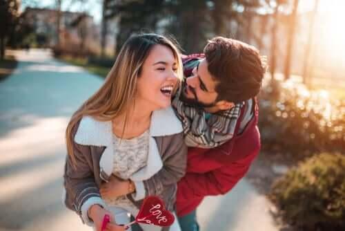 Rakastuminen on emotionaalinen tila, jolle ominaista on ilon ja täyttymyksen tunne, jota edeltää vetovoima toiseen ihmiseen