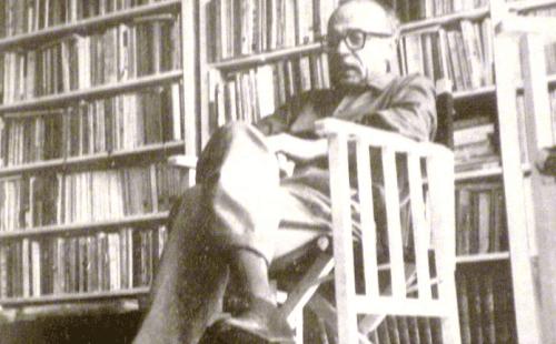 Ernesto Sabato vanhempana.