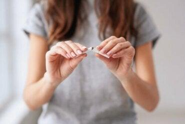 Psykologinen valmistautuminen tupakoinnin lopettamiseksi