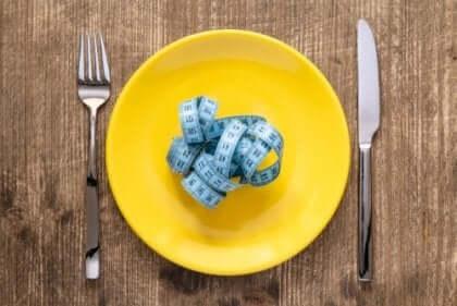 Mittanauha ja syömishäiriöt.